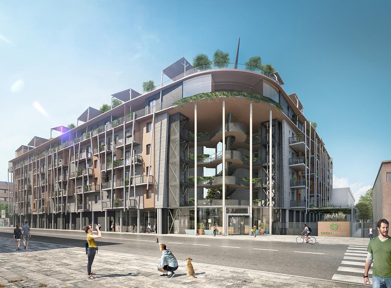 3a architetti Green Opificio